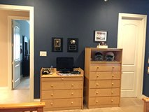 Solid Maple Dresser and Changing Table (Bunk Bed, Desk, Hutch Also Avail.) in Kingwood, Texas