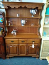 Carlton Maple Hutch 2 piece in St. Charles, Illinois