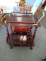 Small Tea Serving Cart on Wheels in Naperville, Illinois