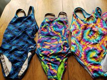Like New Competitive Swimsuits Dolfin 32 and 10/12, Speedo 10 in Glendale Heights, Illinois