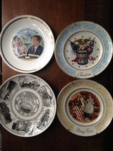 Collectible plates in Fort Drum, New York