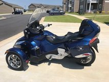Can Am Spyder RT with SM5 audio and convenience in Perry, Georgia