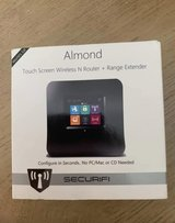 Securifi Almond touchscreen Wireless Router/Range Extender in Kingwood, Texas