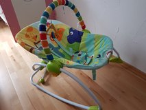 Babywippe Bright Starts Babyschaukel / Baby seesaw Bright Starts baby swing in Ramstein, Germany