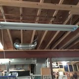 48 inch hanging Work shop Light with Bulbs in Joliet, Illinois