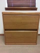 Wood look two drawer lateral credenza (2) in Alamogordo, New Mexico