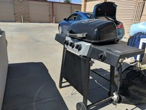 Gas grill BBQ with gas tank in Camp Pendleton, California