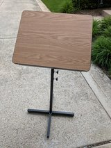 wooden and metal podium in Tinley Park, Illinois