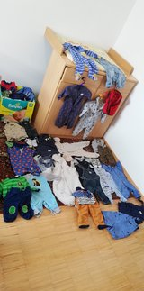 Baby Boy Clothes, Box Full in Wiesbaden, GE