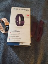Fitbit Charge 2 with 2 bands! Excellent Shape! in Fort Campbell, Kentucky