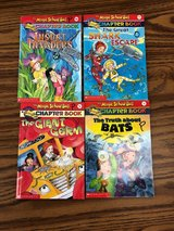Magic School Bus Chapter Books (4 titles) in Westmont, Illinois