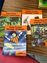 Time-Travel Pioneer Books (4 titles) in Westmont, Illinois
