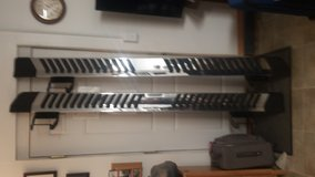 Chrome Step Rails for 2015 Ford F150 in Cherry Point, North Carolina