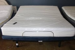 King Size Adjustable Base and Mattress (Tuft and Neddle) in Houston, Texas