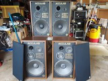 PRICE DROP!!!!    4.... ACCULAB Model 440 Vintage Speakers in Shorewood, Illinois