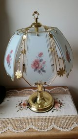 night table lamp floral design in Tinley Park, Illinois