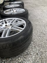 245/45ZR18 100W XL - Off Mercedes Benz - We Can Also Order Brand New Tires & Have Other Used Sets! in Okinawa, Japan