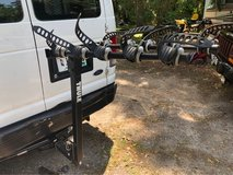Thule 5 bike hitch bike rack in Beaufort, South Carolina