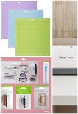 Cricut maker bundle (new) champagne color in Naperville, Illinois