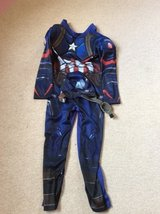 Marvel captain America dress up age 7-8 in Lakenheath, UK