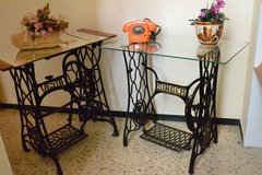 Antique Cast iron SEWING MACHINE FRAMES :  SINGER or VESTA ( Each 89€ ) in Wiesbaden, GE