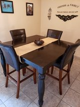 Dining room table in San Diego, California