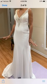 Wedding Gown/Unity Candle, Guest book and Jewelry in Quantico, Virginia
