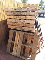 20 pallets in Alamogordo, New Mexico