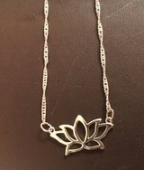 Lotus Flower Necklace in Plainfield, Illinois