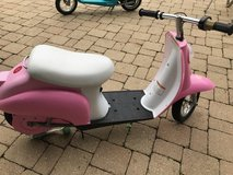 Electric scooter for girls by Razor in Bartlett, Illinois