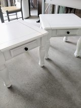 chalk painted end tables / nightstands in Cherry Point, North Carolina