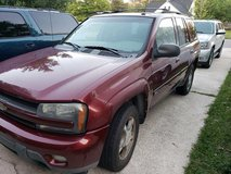 2004 Chevy Trailblazer 4wheel drive in good condition in Camp Lejeune, North Carolina