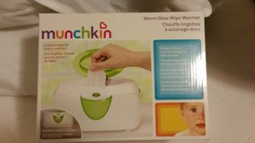 Munchkin warm glow wipe warmer in Fort Lewis, Washington