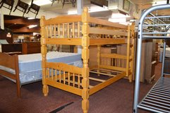 All wood Twin Twin Bunkbed Frame in Fort Lewis, Washington
