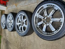 """22"""" Rim & Tire set of 4 in Fort Campbell, Kentucky"""