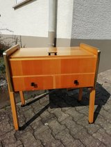 Wooden sewing chest in Ramstein, Germany