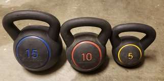 Kettlebells in Camp Pendleton, California