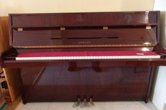 Yamaha  Mahogany Upright Piano in Ramstein, Germany