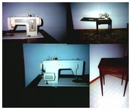 Sewing Machine With Mediterranean Cabinet in Joliet, Illinois
