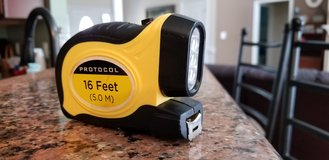 Protocol 16' Tape Measure w. LED Flashlight in Camp Lejeune, North Carolina
