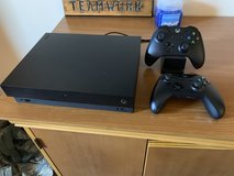 Xbox One X /1TB + Controllers in Eglin AFB, Florida