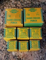 Vintage Radio Chassis Punch Lot in Camp Lejeune, North Carolina