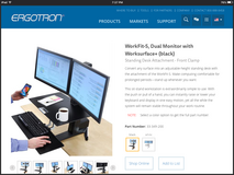 Ergotron Sit - Stand Workstation in Camp Pendleton, California