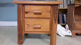 End Table - Log Style in Fort Knox, Kentucky