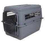 "Petmate Sky Kennel Ultra for 70-90 lb dogs. 40""x 27"" x 30"" in Okinawa, Japan"
