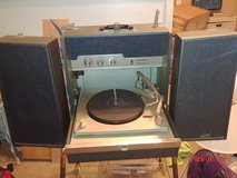vintage Motorola record player in Fort Riley, Kansas