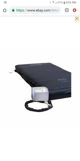 "Brand new in the box ...SatinAir APM Bariatric Mattress, 48"" -  weight capacity 660 lb in Fort Irwin, California"