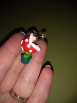 Mario piranha earrings in Fort Campbell, Kentucky
