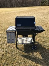 WEBER GRILL 3 BURNER AND SIDE TABLES in Naperville, Illinois