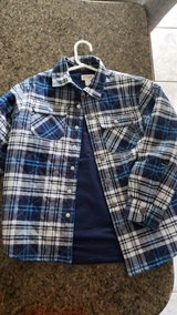 Boys 6/7 quilted flannel in Houston, Texas